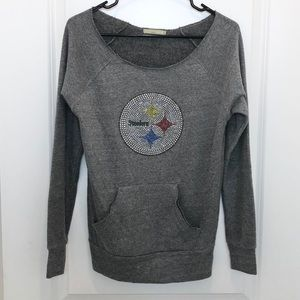 Alternative Earth Steelers Sweatshirt Medium